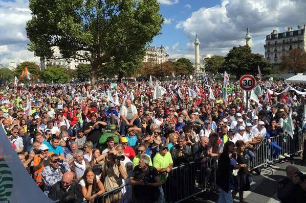Mobilisation du 3 septembre 2015 � Paris